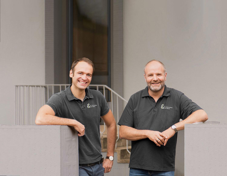 Ärzte Dr. Dominik Schneider & Dr. Thomas Böck – Portrait